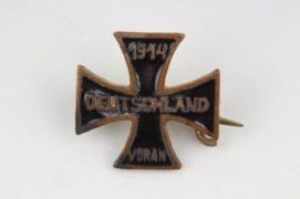 1914 small enamel Iron Cross badge