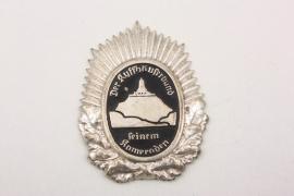 Third Reich Kyffhäuser visor cap badge