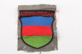 Wehrmacht ASERBAIDSCHAN sleeve badge