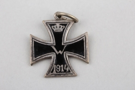 WW1 patriotic enamel 1914 Iron Cross pendant