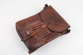 Wehrmacht leather map case