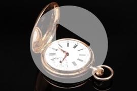 Golden Breguet pocket watch