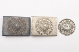 Imperial Germany/Weimar Republic - lot of belt buckles