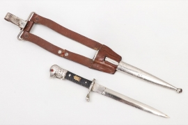 Romania - army officer's dagger with hangers - MICHAEL I