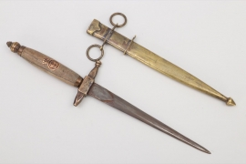 Romania - 1935 engraved navy dagger