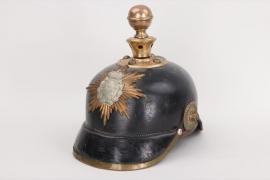 Saxony - M1895 artillery spike helmet EM