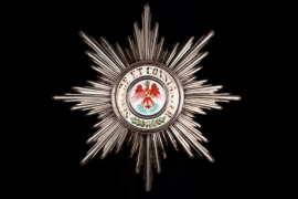 Prussia - Red Eagle Order 1st Class Star