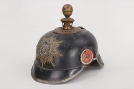 Saxony - patriotic children's spike helmet