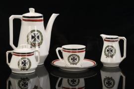 Prussia - 5 pieces of patriotic porcelain