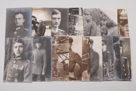 Imperial Air Force & Navy portrait postcards - Pour le Mèrte winner