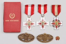 Germany - lot of six badges