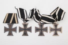 Prussia - 4 x 1914 Iron Cross 2nd Class