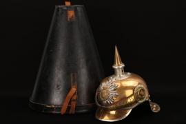 Saxony - Gardereiter-Regiment helmet - EM/NCO