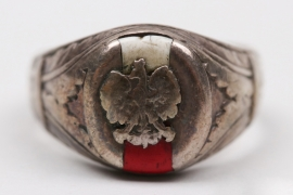 Poland - enamel ring