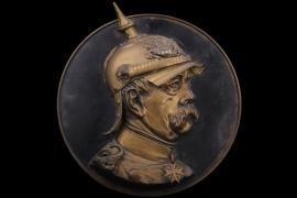 Otto von Bismarck wall relief