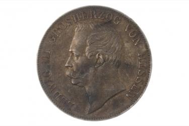 1 TALER 1863 - LUDWIG III (HESSEN)