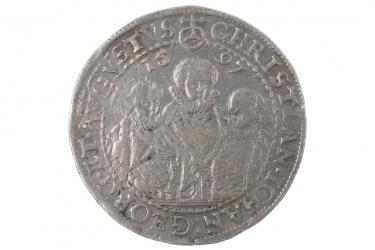 1 TALER 1597 - CHRISTIAN II (SACHSEN)