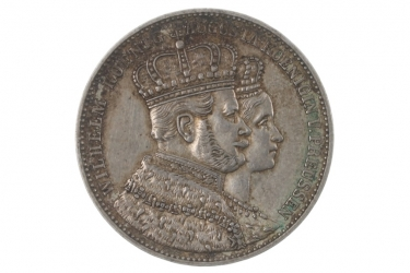 1 TALER 1861 A - WILHELM I (PREUSSEN)