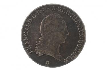 1/2 TALER 1797 B - FRANZ II (ÖSTERREICH)