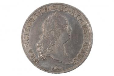 1 TALER 1765 - FRANZ I (AUGSBURG)