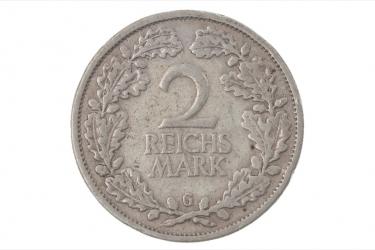 2 REICHSMARK 1926 G
