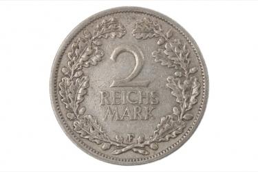 2 REICHSMARK 1925 F