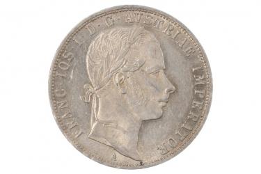 1 GULDEN 1860 - FRANZ JOSEPH (ÖSTERREICH)