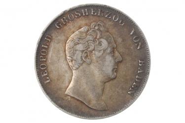 1 GULDEN 1839 - LEOPOLD (BADEN)