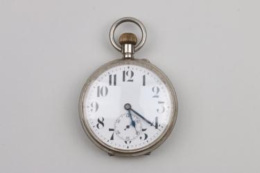 Swiss railwayman's/coachman's pocket watch - 1900