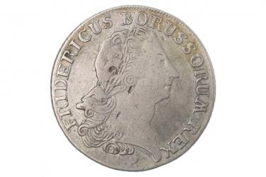 1/3 REICHSTALER 1773 B - FRIEDRICH II (PREUSSEN)
