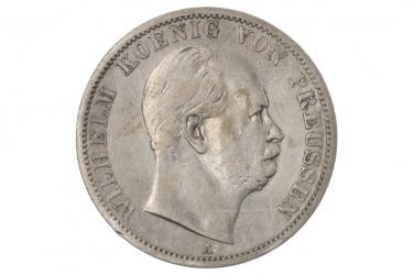 1 TALER 1868 A - WILHELM (PREUSSEN)