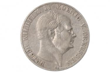 1 TALER 1859 A - FRIEDRICH WILHELM IV (PREUSSEN)