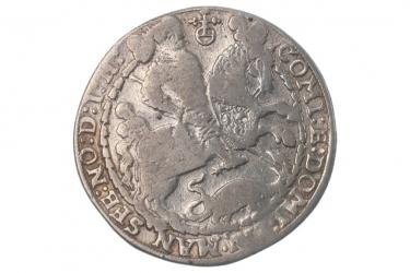 REICHSTALER 1610 - BRUNO, WILHELM, JOHANN, VOLRAD (MANSFELD)