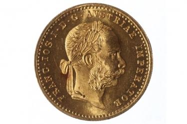 1 DUKAT 1892 - FRANZ JOSEPH I (ÖSTERREICH)
