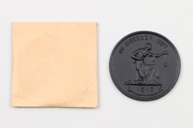 Unissued 1916 German donation coin in original package