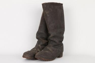 Imperial Germany - WW1 EM's field boots