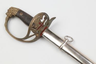 Spanish officer's parade sword