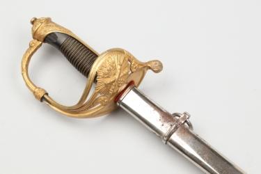 Spanish artillery officer's parade sword