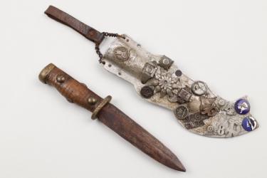 WW2 Finish knife of a Gebirgsjäger
