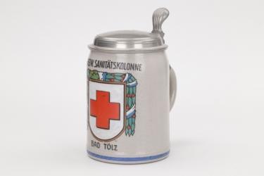"""Bavaria - Sanitätskolone """"Bad Tölz"""" beer mug"""