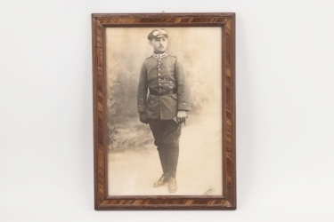 Imperial Germany - WW1 framed Pilot's photo - Eggenfelden