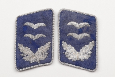Third Reich - Luffwaffe medical collar tabs - Oberleutnant