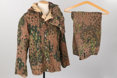 "Waffen-SS reversible ""pea-dot"" camo winter uniform"