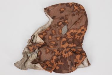 Waffen-SS oak leaf camo winter hat
