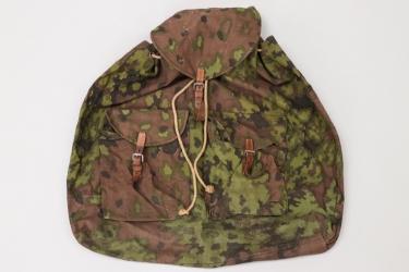 Waffen-SS oak leaf camo rucksack