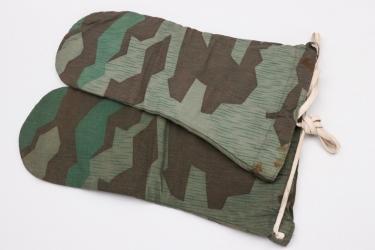 Wehrmacht splinter camo winter mittens - Rb-numbered