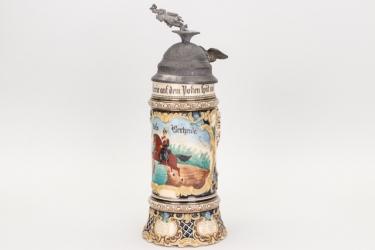"Ulanen-Rgt. ""Friedrich v. Baden"" reservist's mug"