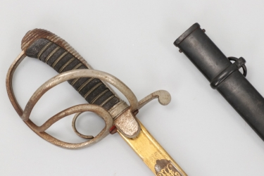 Saxony - M 1867 officer's sabre with damascus blade