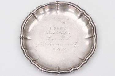 """Weimar Repulic - 1931 """"Rgts. Stab Bressendorf"""" shooting plate - 800"""