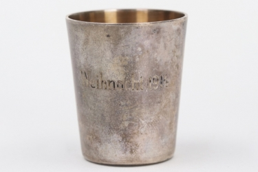 Imperial Germany - 1914 silver Schnaps cup - 800